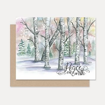 Peace on Earth - A2 Note Card