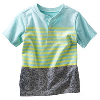 Colorblock Striped Henley