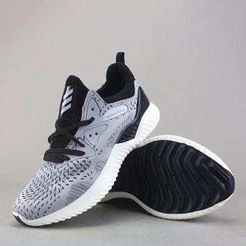 Trendsetter Adidas Alphabounce Running Support  Women Men Fashion Casual Sneakers Sport Shoes