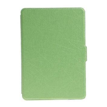 new Ultra Slim Faux Leather Folio Flip Case Protective Shell Skin Cover For Amazon Kindle size 6
