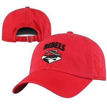Licensed Unlv Rebels Official NCAA Adjustable Crew Hat Cap by Top of the World 283456 KO_19_1