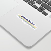 Pump Up The Love - Pride 2018 Sticker by thesugarsshop