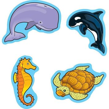 SEA LIFE STICKERS 90 PER PK
