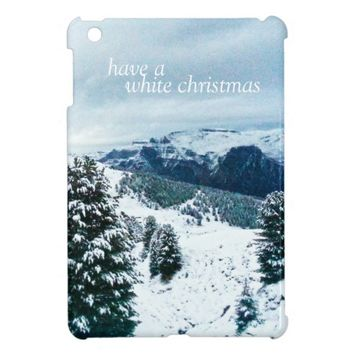 Have a White Christmas Cover For The iPad Mini