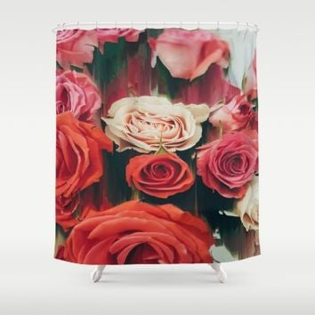 Beauty is Fleeting Shower Curtain by Ducky B