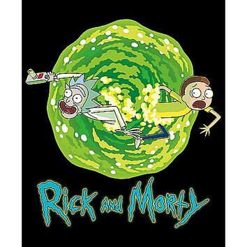 Portal Rick and Morty Poster - Spencer's
