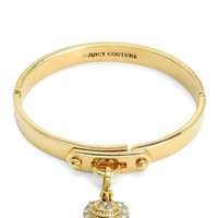 Pave Heart Starter Mini Charm Bangle by Juicy Couture
