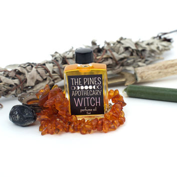 Witch Perfume // Botanical + Artisanal // Natural Vegan Perfume Oil
