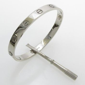Authentic Cartier Love bracelet #260-002-432-0375