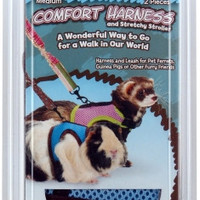 Sml Animal Harness W/Leash Med
