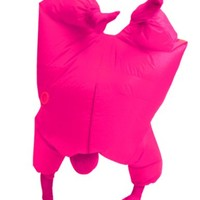 Inflatable Adult Chub Suit Costume (Pink)