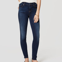 Denim Leggings in Rich Dark Indigo Wash | LOFT