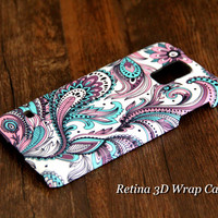 Peacock Feathers Samsung Galaxy S5/S4/S3/Note 3/Note 2 Protective Case