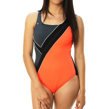 Aqua Sphere Women's Carline Aqua Infinity One Piece Swimsuit