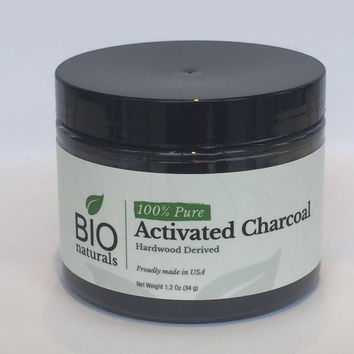 Activated Charcoal Powder 100% Pure, Organic Vegan Certified NSF/ANSI Standard 61