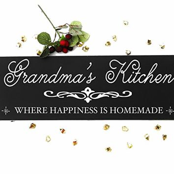 CHRISTMAS GIFT FAST SHIPPING Bravood Wood Design Wholesale Grandma's Kitchen Sign from Our Grandparents Collection.sign#K03