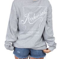 Lauren James - Line Art Arkansas L/S