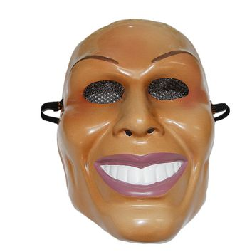MERRY  Purge  Cosplay  Masks  Plastic  Smiling  Design
