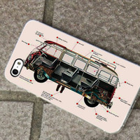 Volkswagen Design fits for iPhone 4/4s/5/5S/5C, Samsung S3/S4 case cover, Gift Under 25