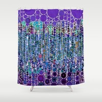 :: Purple Rain :: Shower Curtain by :: GaleStorm Artworks ::