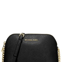 MICHAEL Michael Kors 'Large Cindy' Dome Crossbody Bag