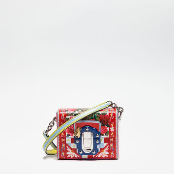 Women's crossbody bags and shoulder bags | Dolce&Gabbana - MINI LUCIA BAG IN LEATHER