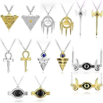 New Millennium Necklace Cosplay Pyramid Egyptian Eye Of Horus Necklace