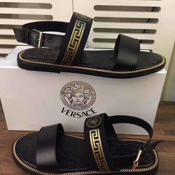 VERSACE  Men Men's slippers shoes sandals
