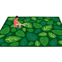 Natural Accents Leaves Classroom Carpets at Lakeshore Learning