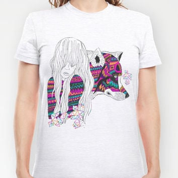 ▲SHE-WOLF▲ T-shirt by Kris Tate | Society6