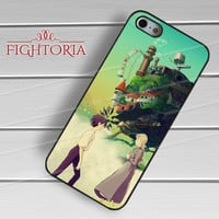 Howl's Moving castle - zAzA for  iPhone 6S case, iPhone 5s case, iPhone 6 case, iPhone 4S, Samsung S6 Edge