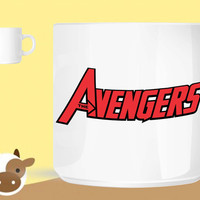 avengers logo version  unique coffee mug