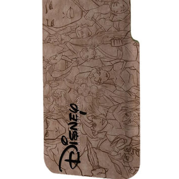Best 3D Full Wrap Phone Case - Hard (PC) Cover with Walt Disney Classic Never Stop Dreaming Design