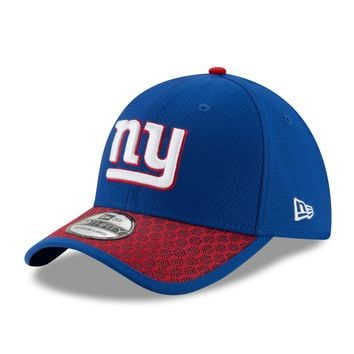 New York Giants NFL17 Sideline 39THIRTY Flex Fit Hat By New Era