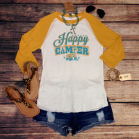 HAPPY CAMPER RAGLAN BY ATX