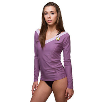 Star Trek:TNG Deanna Troi Swim Shirt