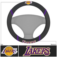 Los Angeles Lakers NBA Polyester Steering Wheel Cover