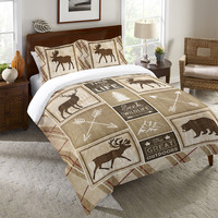 Country Cabin Duvet Cover
