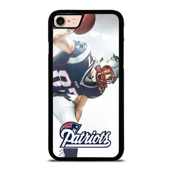ROB GRONKOWSKI NEW ENGLAND PATRIOTS iPod Touch 6 iPhone 8 Case