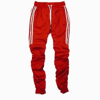 Richie Stacked Pants (Red)