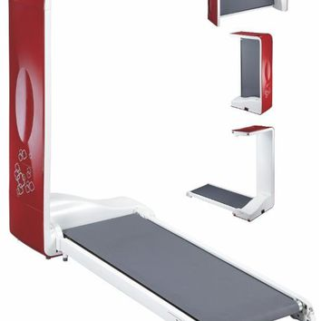BodyCraft Spacewalker Treadmill Red/White