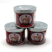 [3-Pack] Bath and Body Works Red Velvet Cupcake Scented Candle