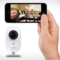 Belkin NetCam HD Camera for Tablet and Smartphone with Night Vision and Digital Audio