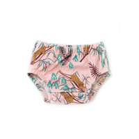 Organic Baby Bloomers in Tropica Leopard