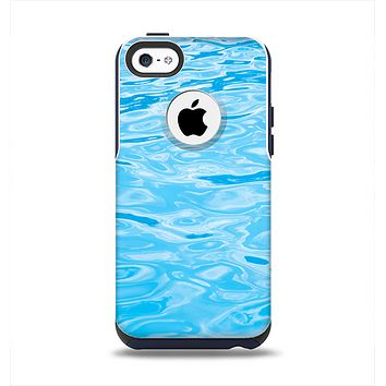 The Crystal Clear Water Apple iPhone 5c Otterbox Commuter Case Skin Set