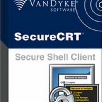 SecureCRT 7.3.6 Portable Crack + License Key