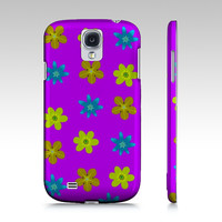 Floral pattern by Howard Lee (Samsung Galaxy S4)