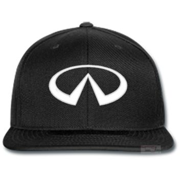 infiniti EMBROIDERED beanie or SNAPBACK hat