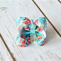 Search for the perfect 4 inch bow? Shop Your Final Touch for beautifully handmade hairbows.
