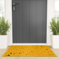 Obsessed Welcome Mat by duckyb